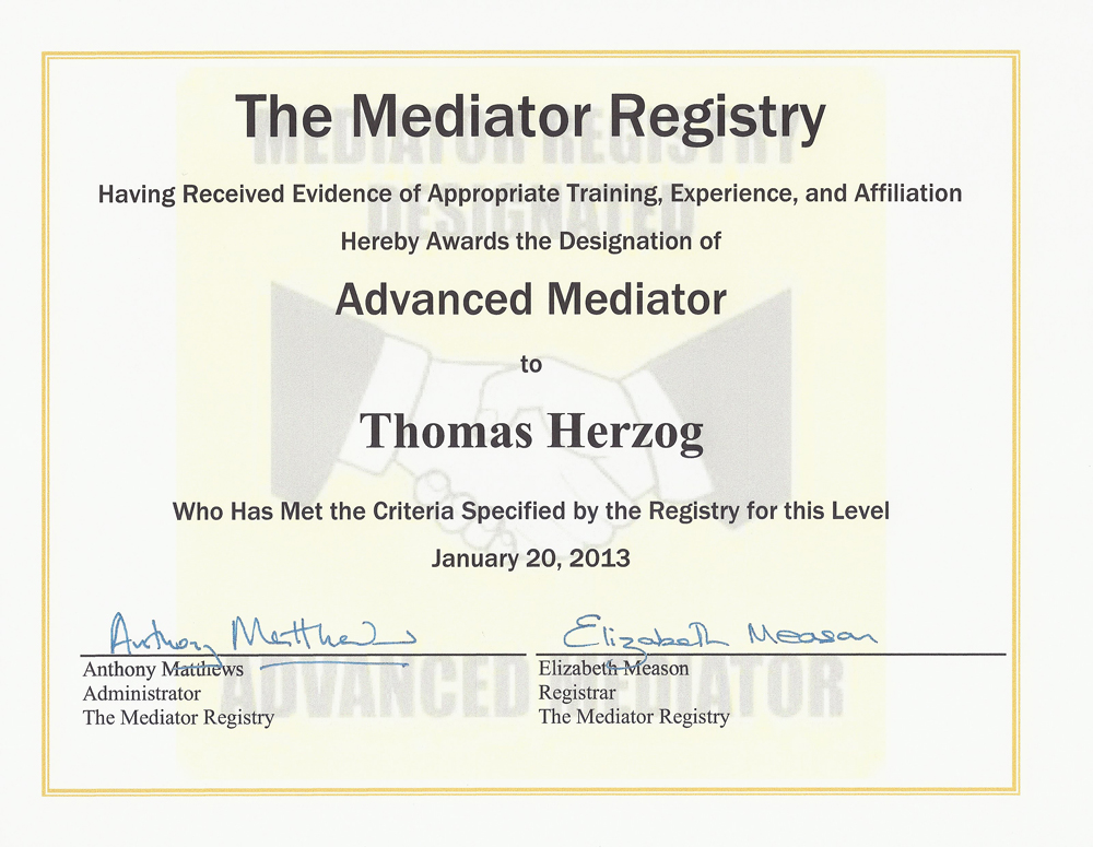 how to become a certified mediator in florida